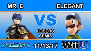 Video MSM 121 - Fstep | Mr. E (Marth) Vs. BSD | Elegant (Luigi) Losers Semis MP3, 3GP, MP4, WEBM, AVI, FLV November 2017