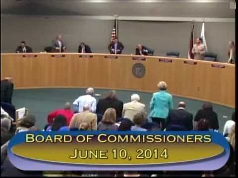 Gaston County Board of Commissioners June 10 2014