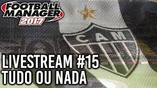 Bem vindos à livestream #15 do PlayRoom. Estamos a jogar FM2017, com o Clube Atlético Mineiro e estamos na luta pelo título,...