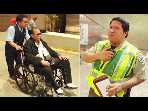 Watch As Pap Saves Star Wars Alum Billy Dee Williams From Parking Ticket!