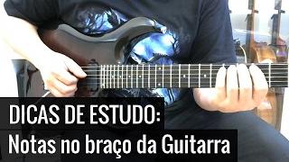 Decorando as Notas no Braço da Guitarra