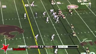 Christian Ringo vs Texas St. (2014)