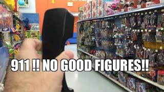 CALL 911! NO GOOD WWE WRESTLING FIGURES at Walmart! Toy Hunt P...