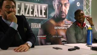 Anthony Joshua vs Breazale Post Fight Press Conference