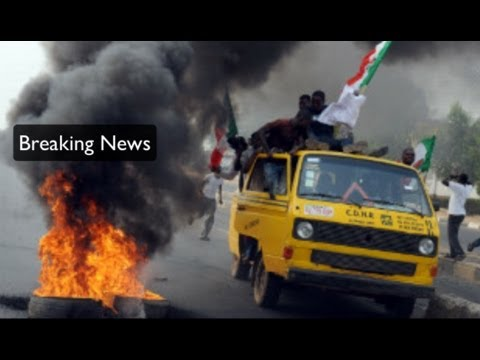 danewz1 - Nigerians protest end of fuel subsidy Breaking news radio blog At least 13 injured in fuel subsidy protest in northern Nigeria Conflicting reports say some p...