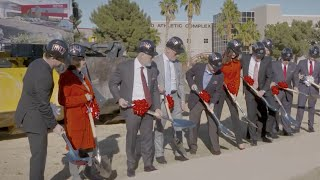 UNLV in Focus: Fertitta Groundbreaking, Hospitality Hall, Healthy Homes, and more (January 2018)