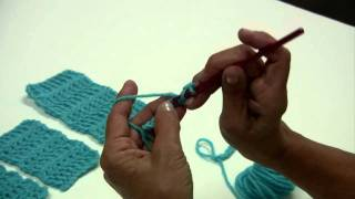 Video Learn to Crochet: 5 Basic Crochet Stitches by Red Heart with Kathleen Sams MP3, 3GP, MP4, WEBM, AVI, FLV Juli 2018