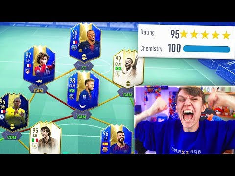 98 TOTS NEYMAR!! 195 RATED LIGUE 1 FUT DRAFT!! (FIFA 19)