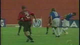 Data: Sábado, 06/08/2005 HOrário: 16h00 Local: Arena da Baixada - Curitiba, PR GOLS 1x0 Atlético-PR Alan Bahia 1'/1 1x1...