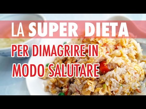 👌 LA SUPER DIETA PER DIMAGRIRE 🔥 SUBITO E IN MODO SANO - CICCIA & MUSCOLI #2