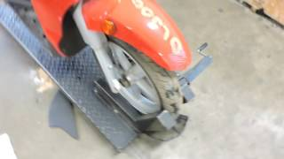 8. 2008 Aprilia Scarabeo 200 used scooter parts for sale