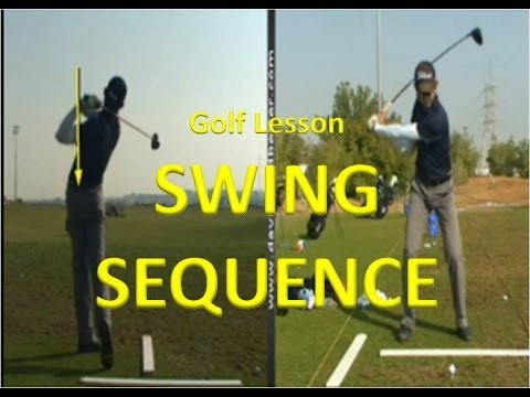 Golf Lesson – Swing Sequence, Driver Lesson