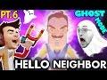He s Peeing Nasty Hello Neighbor Ghost Mode Mod Alpha 1
