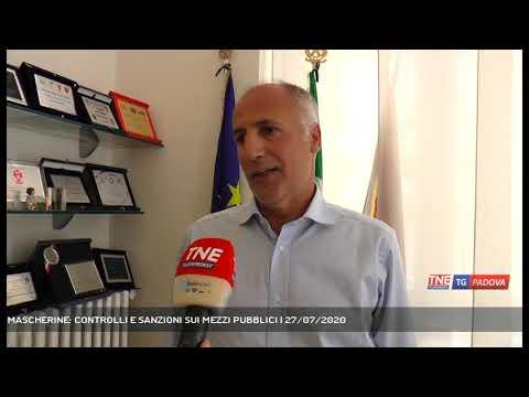 MASCHERINE: CONTROLLI E SANZIONI SUI MEZZI PUBBLICI | 27/07/2020