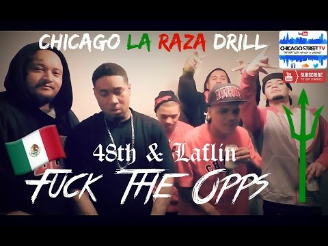 """Fuck The Opps 🔫"" La Raza Chicago Folks Gang Drill Rap 2018 LRz 48th & Laflin Back Of The Yards"