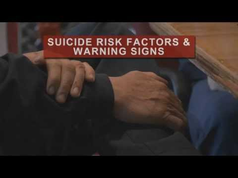 suicide - This video, produced by the Carson J Spencer foundations explores the effect of suicide on firefighters and first responders.
