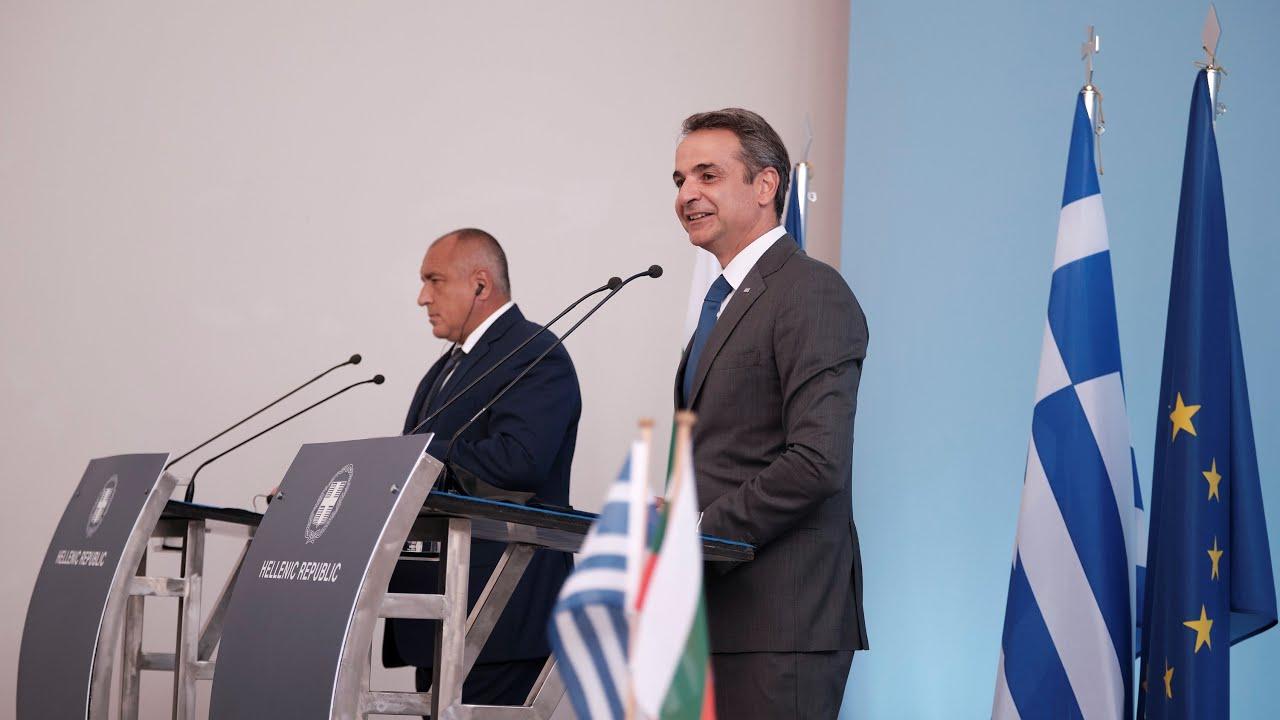 Δηλώσεις του Πρωθυπουργού Κυριάκου Μητσοτάκη και του Πρωθυπουργό της Βουλγαρίας Boyko Borissov