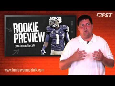 John Ross Rookie Preview – 2017 Fantasy Football thumbnail