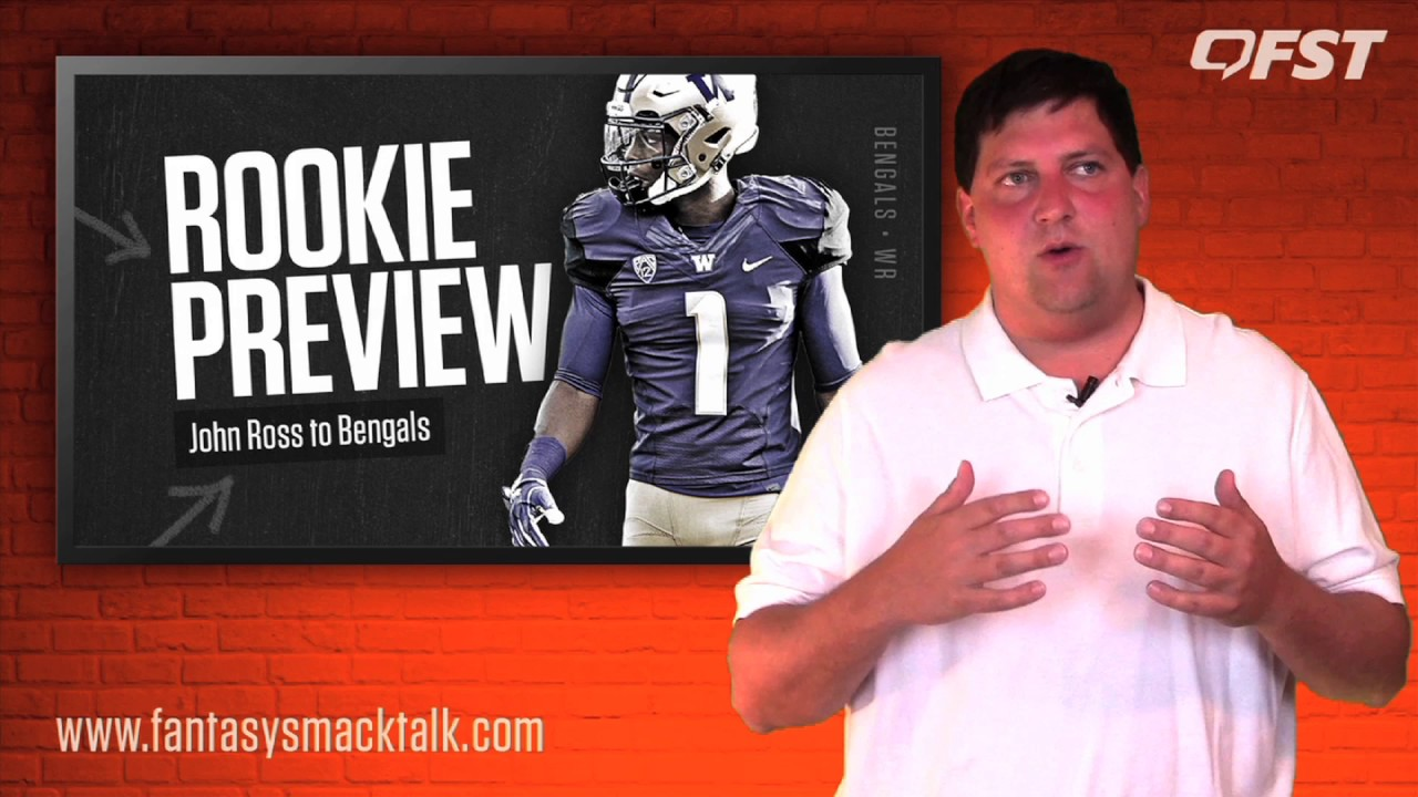 John Ross Rookie Preview – 2017 Fantasy Football thumbnail