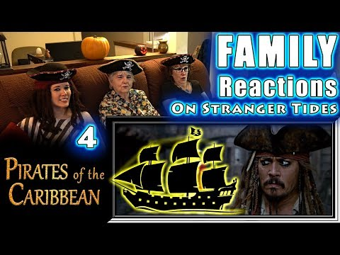 Pirates Of The Caribbean 4 | On Stranger Tides | FAMILY Reactions | Fair Use