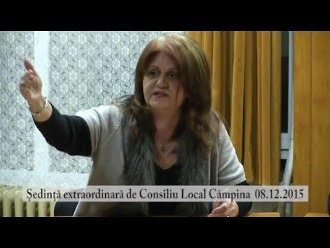Sedinta extraordinara Consiliul Local Campina din 8 dec. 2015 – partea a III-a