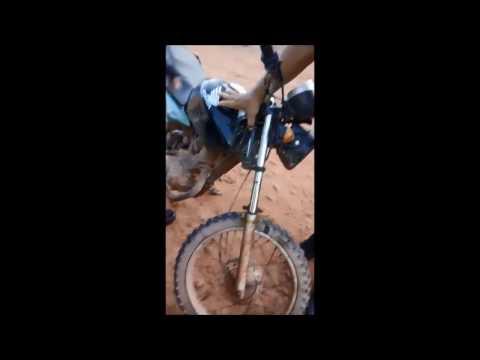 PM de Joselândia MA apreende moto e arma de fogo