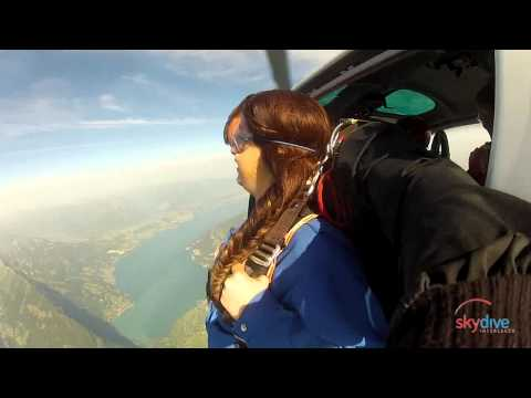 Skydive Interlaken Courtney, 19.7.2014