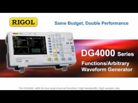 Rigol DG4000 Function/Arbitrary Waveform Generator