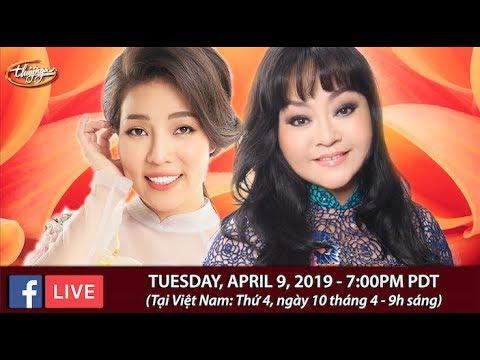 Livestream với Hương Lan & Châu Ngọc Hà - April 9, 2019 - Thời lượng: 1 giờ, 11 phút.