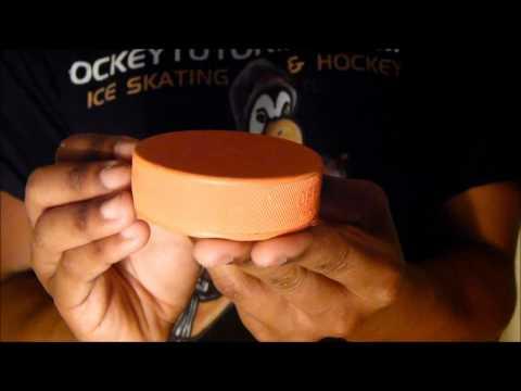 Improve Stickhandling Speed – Orange Weighted 10oz Training Aid Hockey Puck