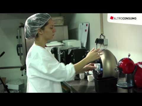 Macchine per il caffè: le prove di laboratorio