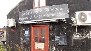 The Museum of Icelandic Sorcery & Witchcraft in Hólmavík, Iceland