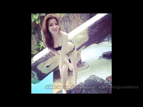 Donnalyn Bartolome in two piece swimsuit bikini