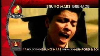 2012 GRAMMY NOMINEES Album CM