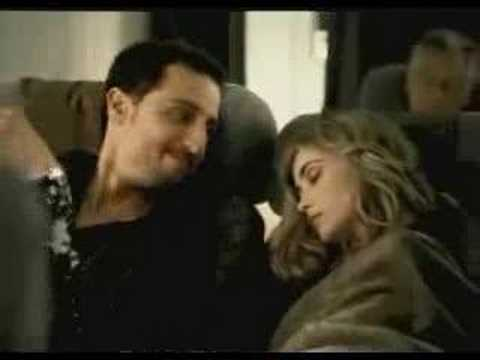 Hottie on Airplane! Cell phone commercial