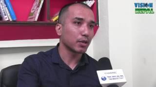 Pankaj Raj Shrestha  Managing Director  Intetnational Icon Education Consultancy  Interview By Bishal Adhikari NITV Media...