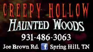 Spring Hill (TN) United States  city images : Nashville Haunted Houses - Creepy Hollow Haunted Woods/Spring Hill TN.