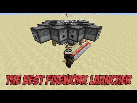 Minecraft 1803632 3 the best firework rocket launcher minecraft 3