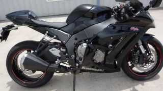 9. $8,499: 2011 Kawasaki ZX10R ABS Black Pre Owned