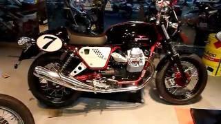 3. Moto Guzzi V7 Racer black edition in japan 05-11-2011.MOV