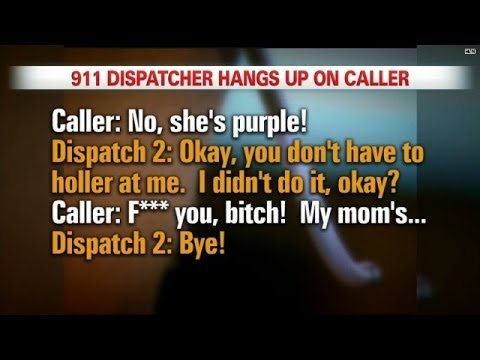 911 operator hangs up on son of dying mom, keeps job