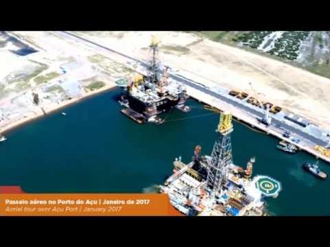 Aerial tour over Açu Port | Jan 2017