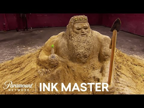 Flash Challenge Preview: Sand Sculptures - Ink Master, Season 8