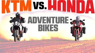 4. 2017 Honda Africa Twin vs. KTM 1090 Adventure R