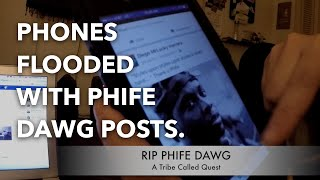 Phones Flooded with Phife Dawg Posts | Rest In Peace Phife | RIP