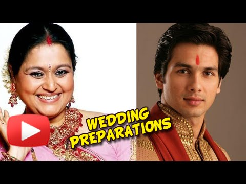Shahid Kapoor's Mother Talks About His Marriage Pr