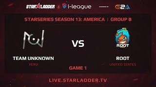 unknown.xiu vs ROOT, game 1