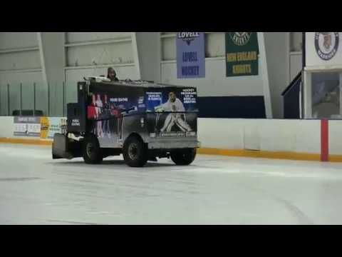 How To Operate A Zamboni