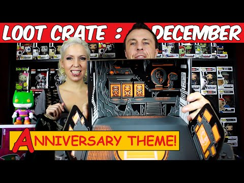 Loot Crate Unboxing Video Review – December 2014 Edition: ANNIVERSARY