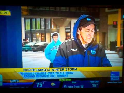 Weather channel blooper!!